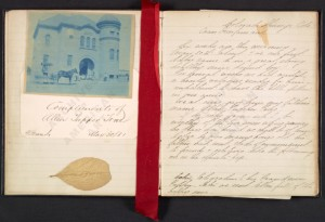 "Margaret True's diary, including these pages will be displayed in ""A Day in the Life"" exhibit"